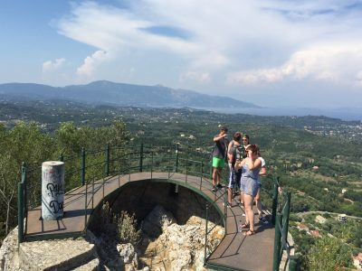 The Kaiser's throne in Corfu