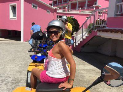 Quad Safari Pink Palace Corfu Hostel